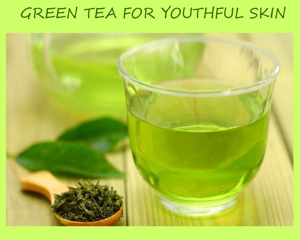 Green Tea For Youthful Skin